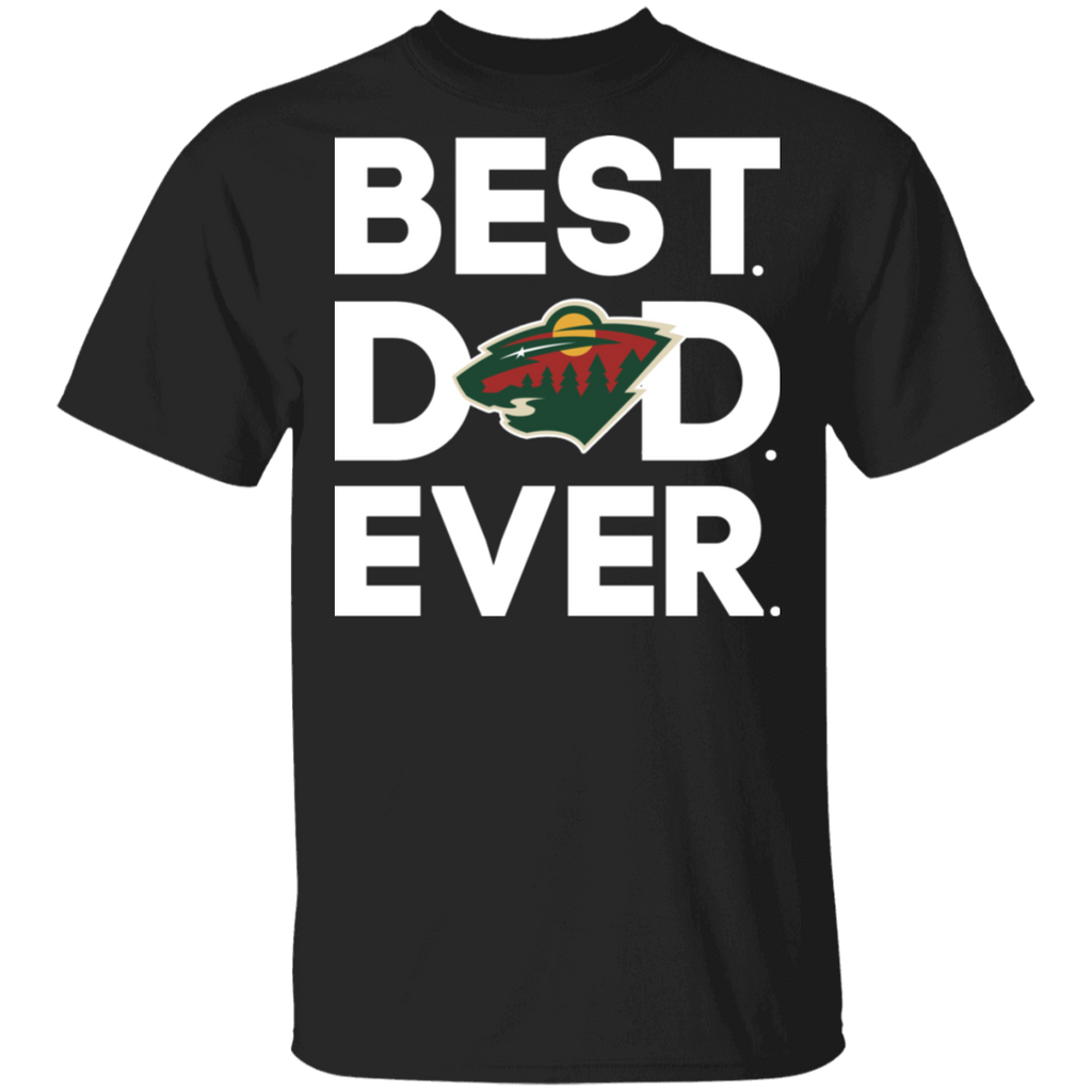 NHL - Minnesota Wild - Best Dad Ever T-Shirt
