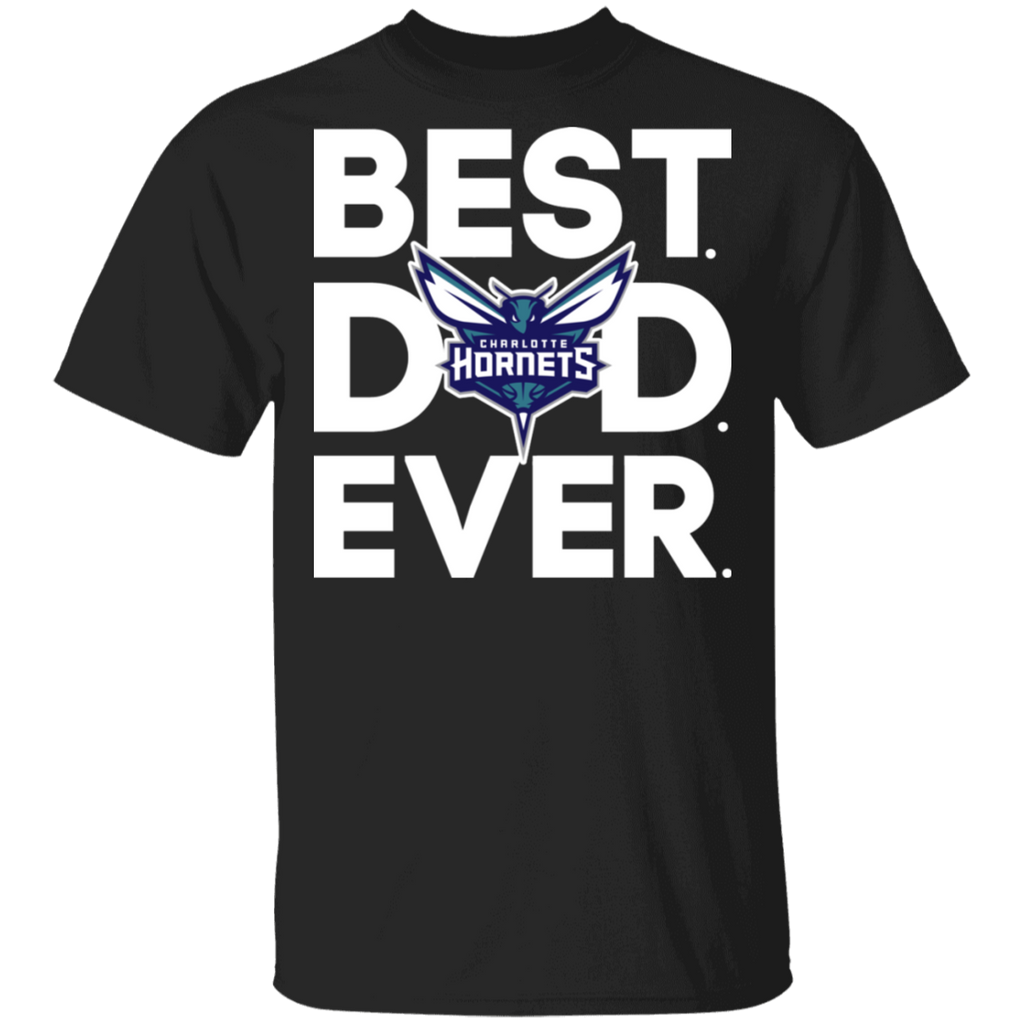 NBA - Charlotte Hornets - Best Dad Ever T-Shirt