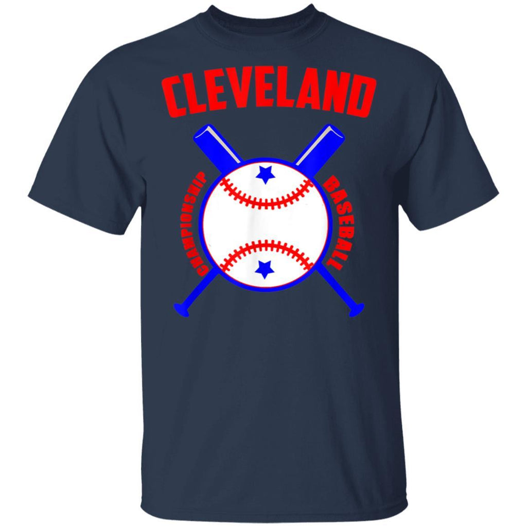 Cleveland Hometown Indian Tribe vintage for Baseball Fans T-Shirt