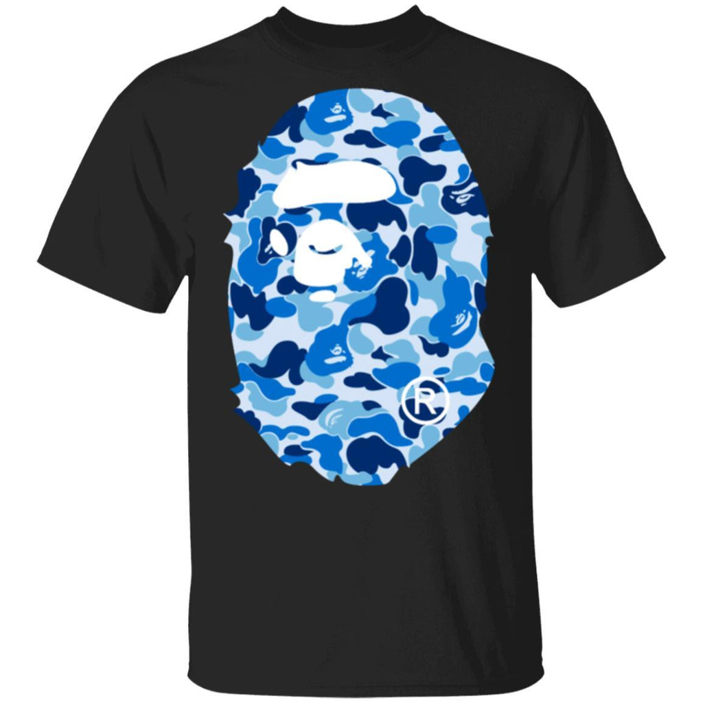 Bape R ABC Blue Camo T-Shirt