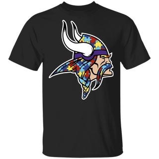 NFL - Minnesota Vikings Support Autism Awareness T-shirt