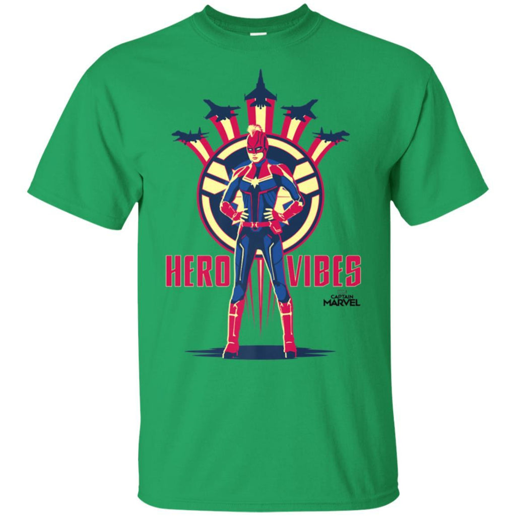 Captain Marvel Movie Hero Vibes Planes Premium T-Shirt