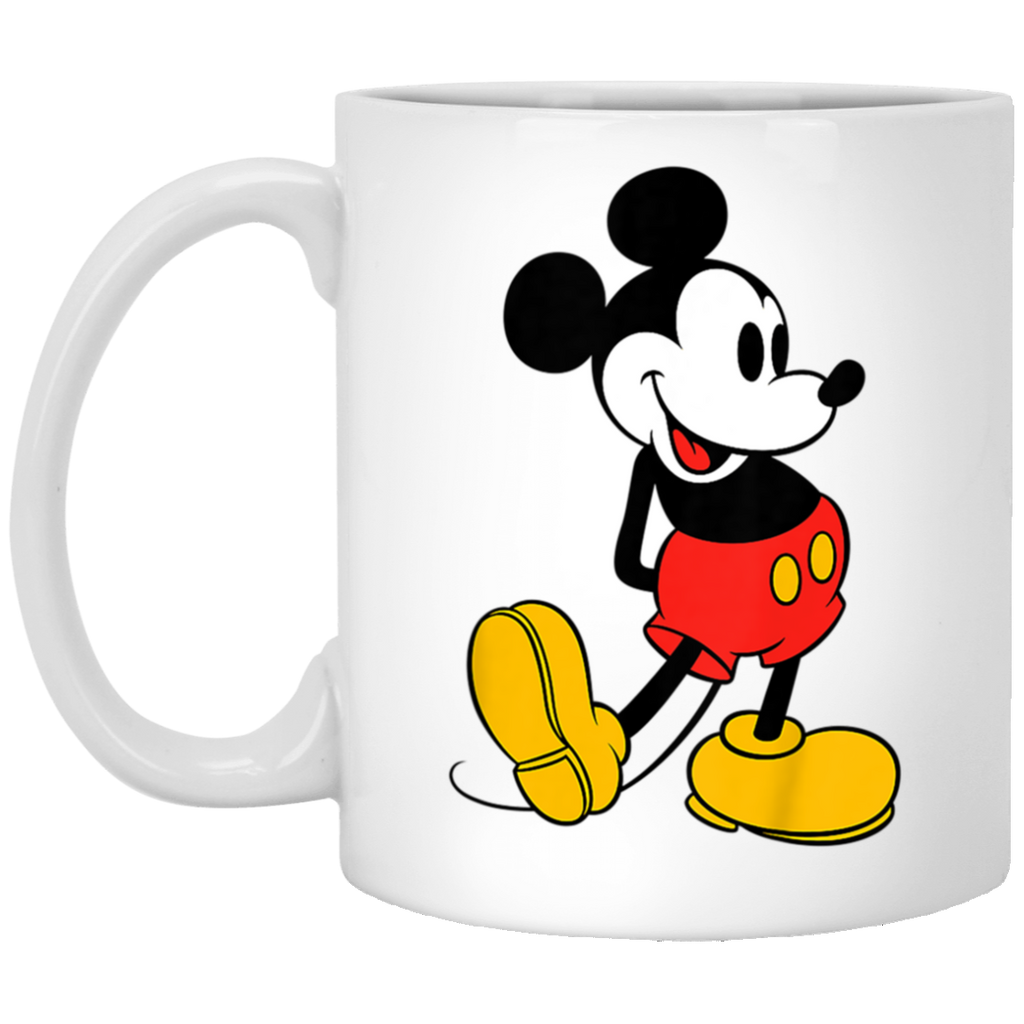 Kids Disney MIckey Mouse Classic Stand White Mug