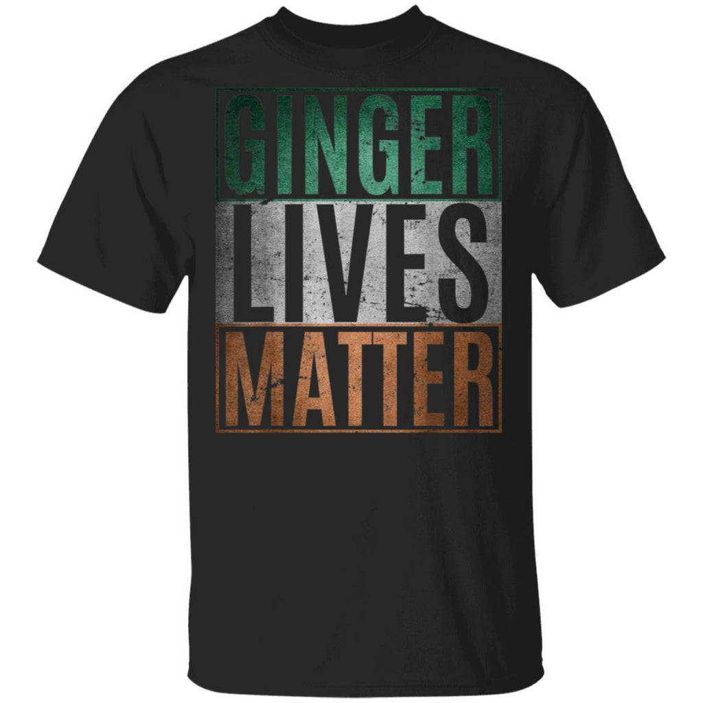 Irish Ginger Lives Matter St. Patrick's Day T-Shirt