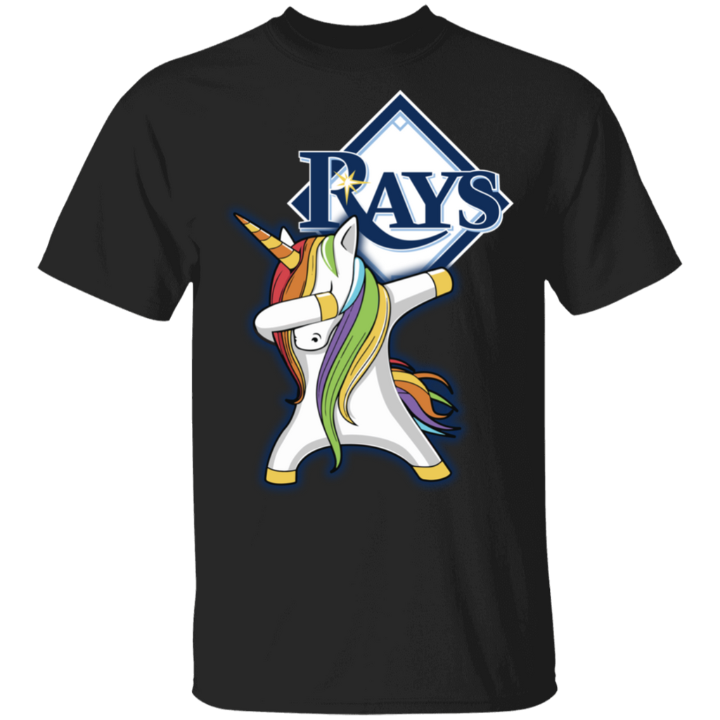 MLB Tampa Bay Rays Baseball Dabbing Unicorn T-shirt