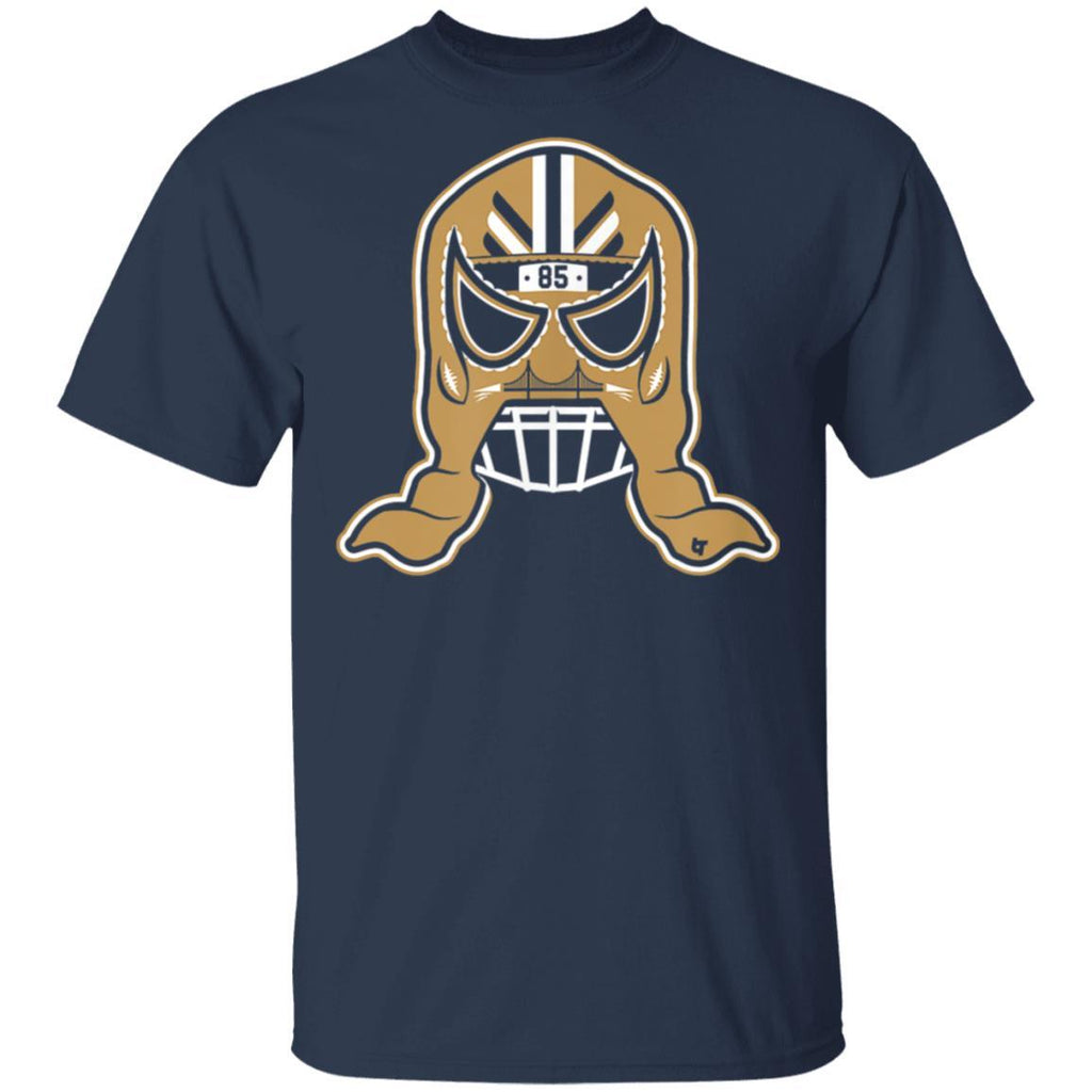 Officially Licensed George Kittle - George Kittle Lucha Mask T-Shirt