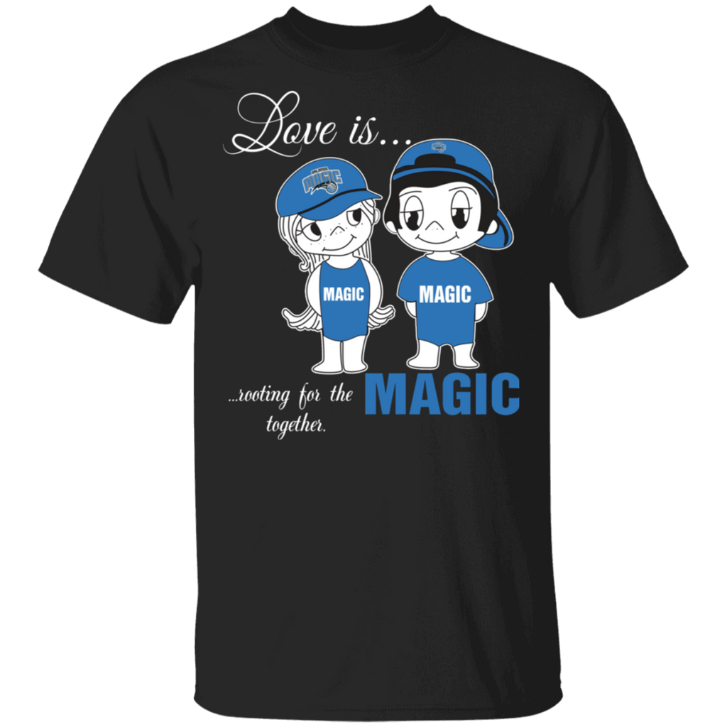 NBA Love Is Rooting For The Orlando Magic Together T-Shirt