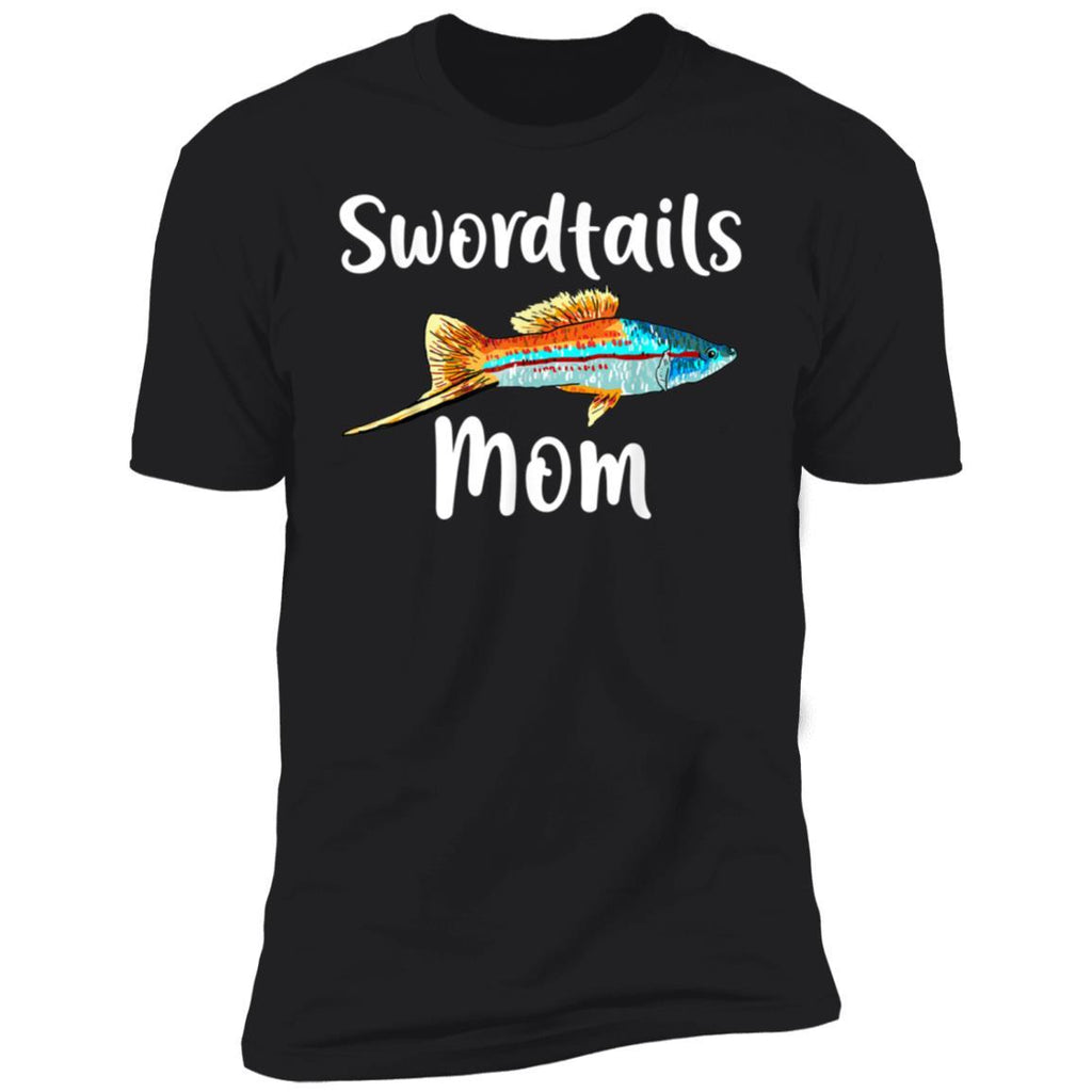 Funny Swordtails Mom,Fish Lover Animal Gift for Mother T-Shirt