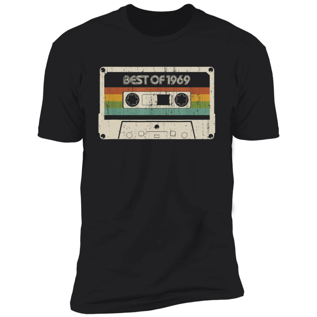 Vintage Best of 1969 50th Birthday Cassette T-Shirt