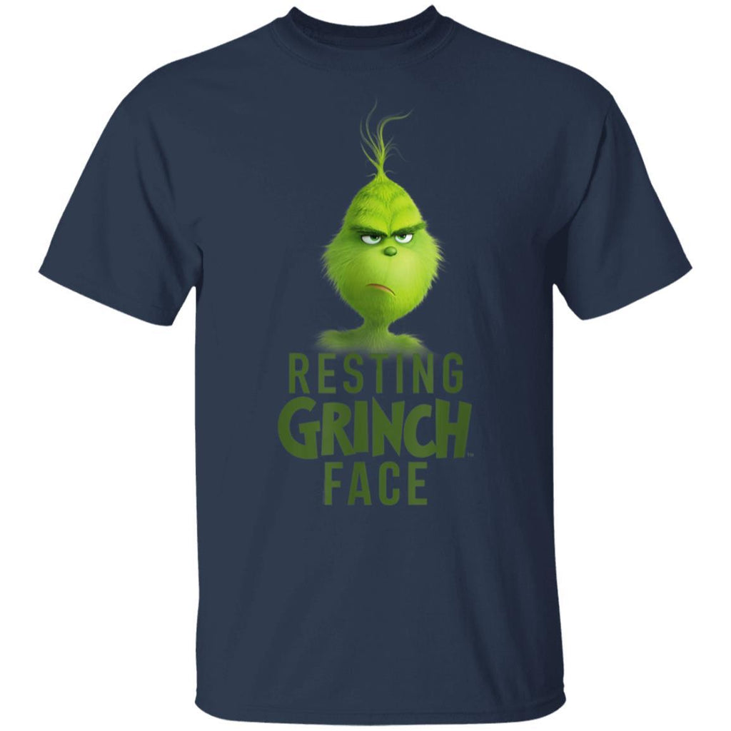 Dr.Seuss The Grinch Resting Grinch Face T-Shirt