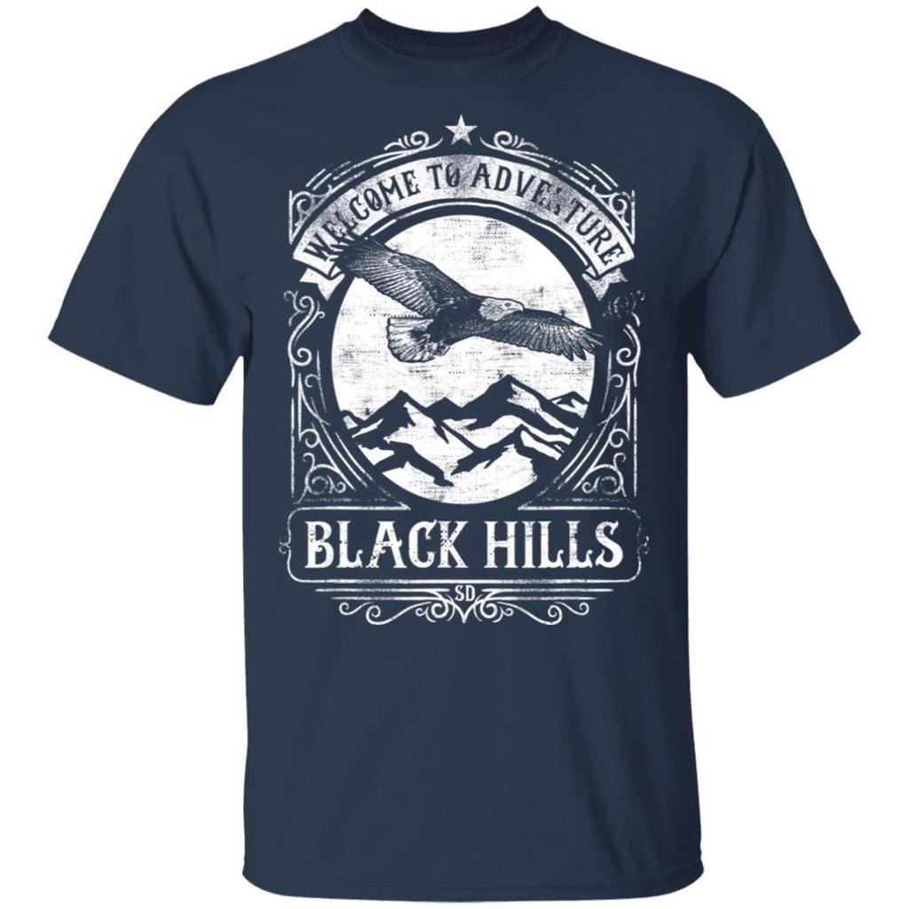 Welcome to Adventure Black Hills National Park T-Shirt