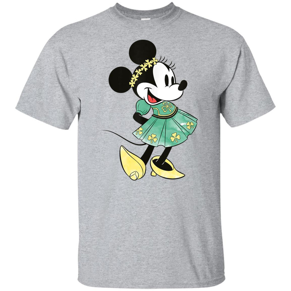 Disney Minnie Mouse Shamrock Dress St. Patrick's Day T-Shirt