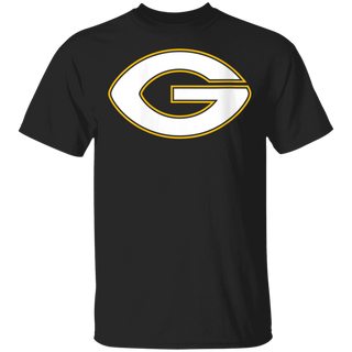 Womens Green Bay G Football Shape Letter G Classic Packer Gift V-Neck T-Shirt