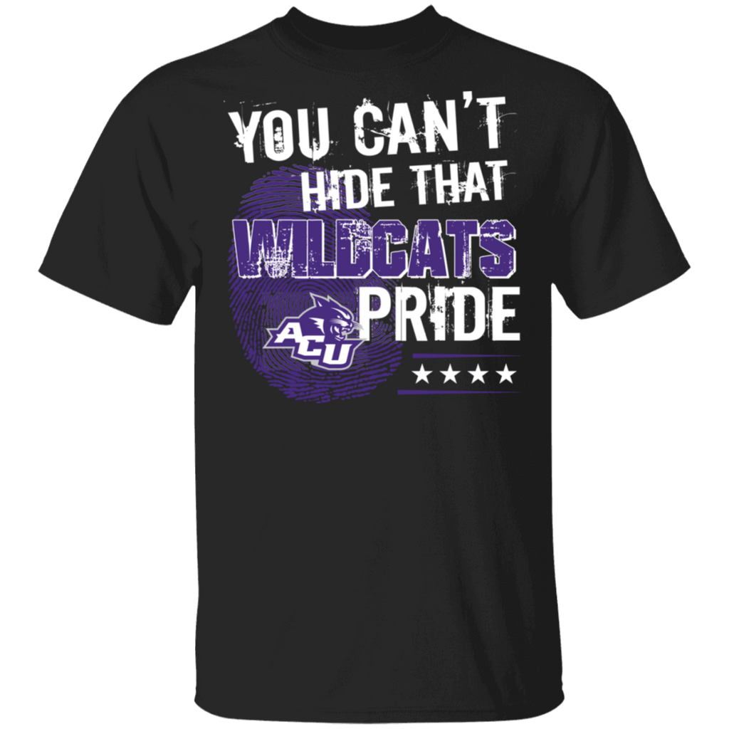 NCAA - You Can't Hide That Abilene Christian Wildcats Pride Shirt