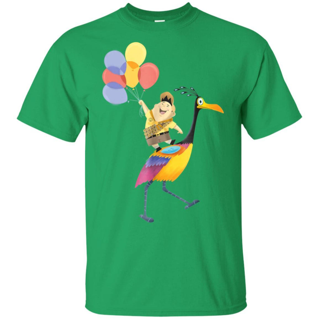 Disney Pixar Up Russell Balloons On Kevin Graphic T-Shirt