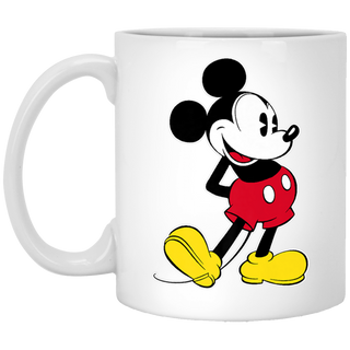 Disney Mickey Mouse Classic Pose Premium White Mug