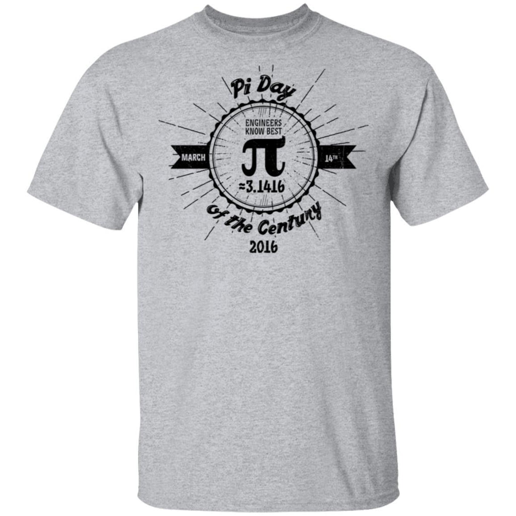 Engineers' Pi Day of the Century T-Shirt