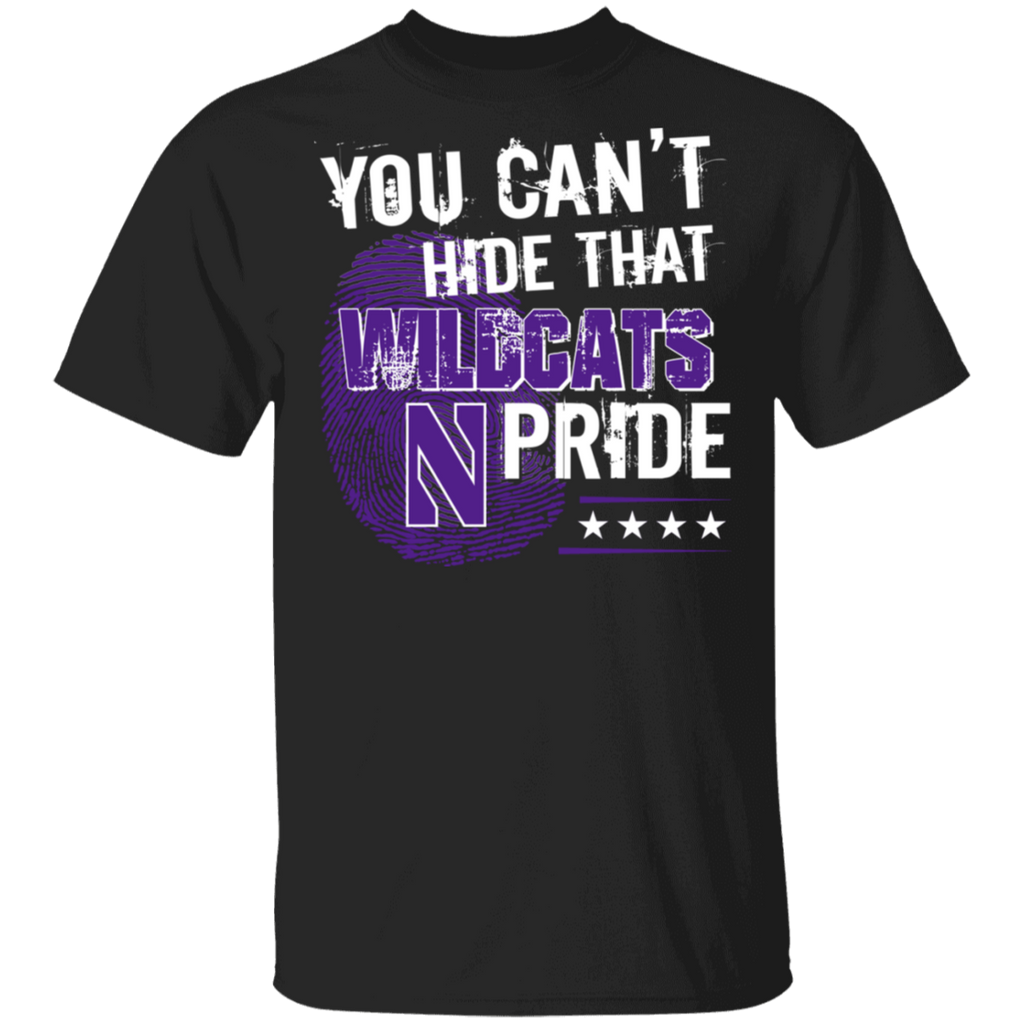 NCAA - You Can't Hide That Northwestern Wildcats Pride Shirt