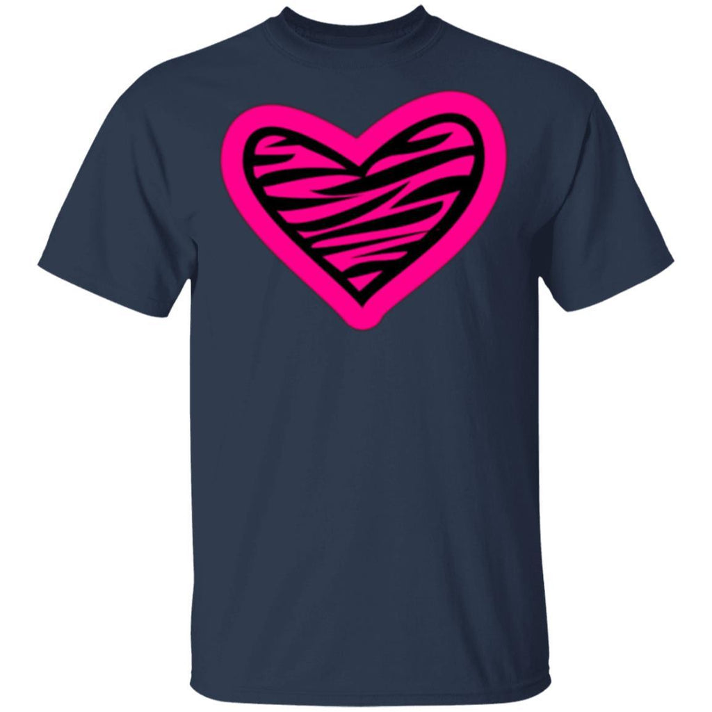 Heart of a Zebra T-Shirt