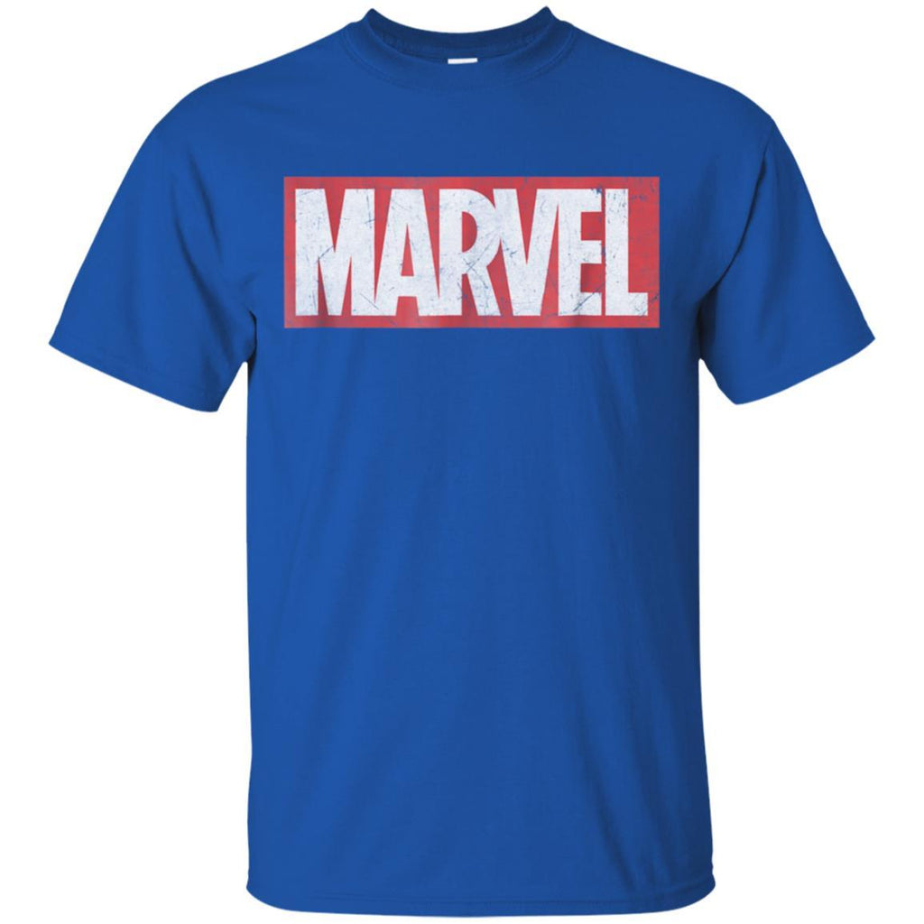 Marvel Classic Distressed Logo Graphic T-Shirt