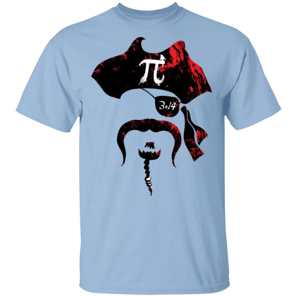 Irrational Pi Day Pirate T-Shirt