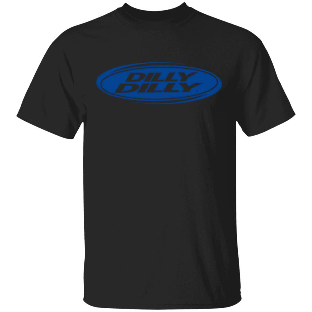 Dilly Dilly Oval Blue T Shirt