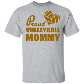 Proud Volleyball Mommy Tshirt