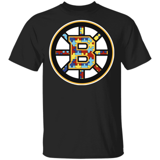 NFL - Boston Bruins Support Autism Awareness T-shirt