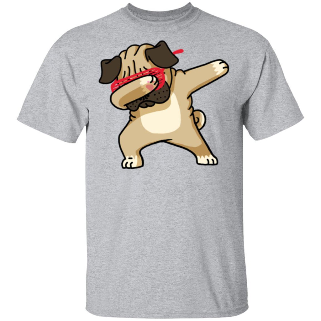 Pug Cute Dabbing T-Shirt