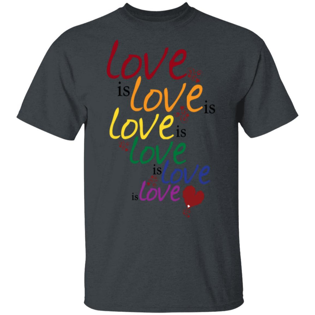 Gray Love is love (Gay Marriage) T-Shirt