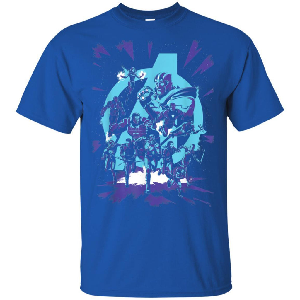 Marvel Avengers Endgame Super Heroes vs. Thanos T-Shirt