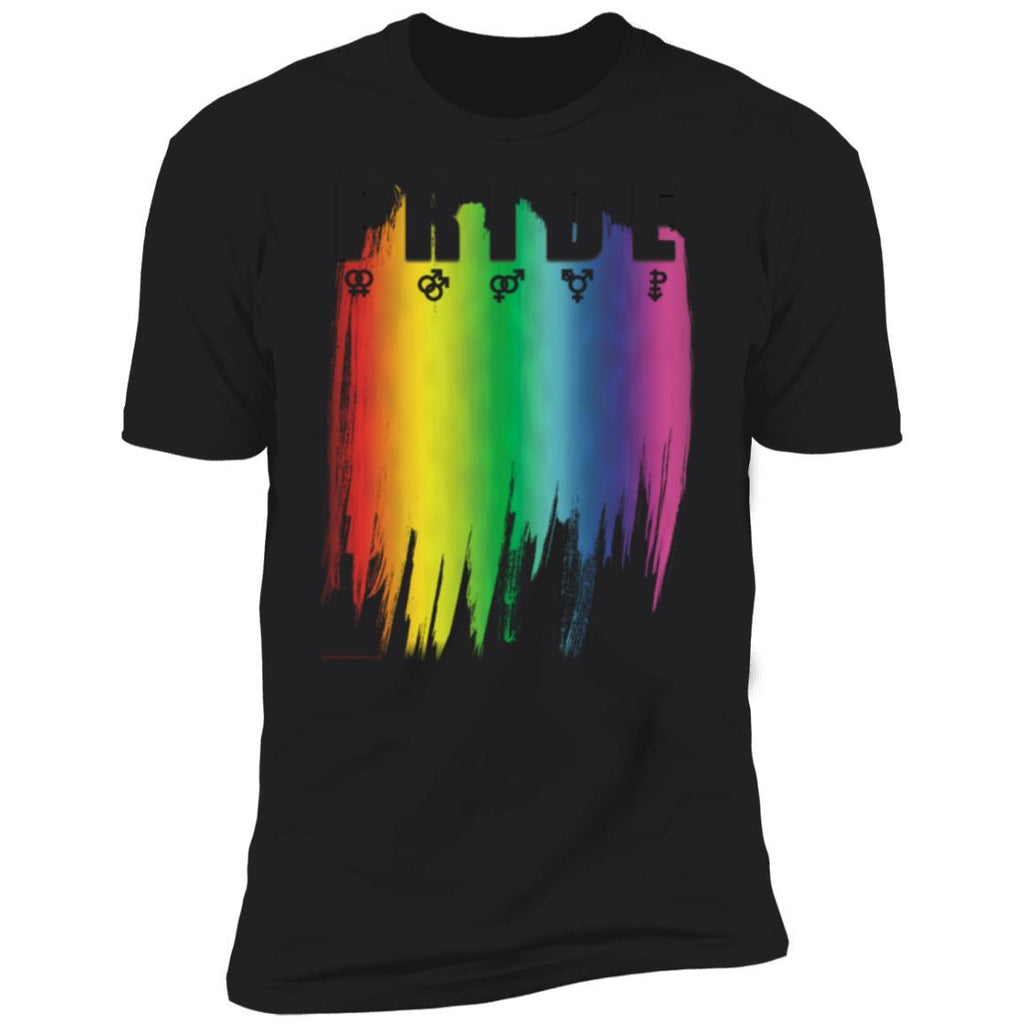 Savedge Pride Rainbow Flag and Symbols T-shirt