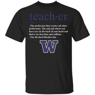 NCAA - Teacher Washington Huskies Fan Funny T-Shirt