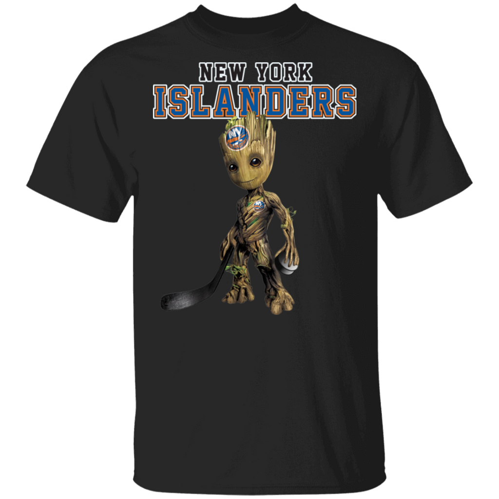 NHL - New York Islanders Hockey Guardians of the Galaxy Groot T-Shirt
