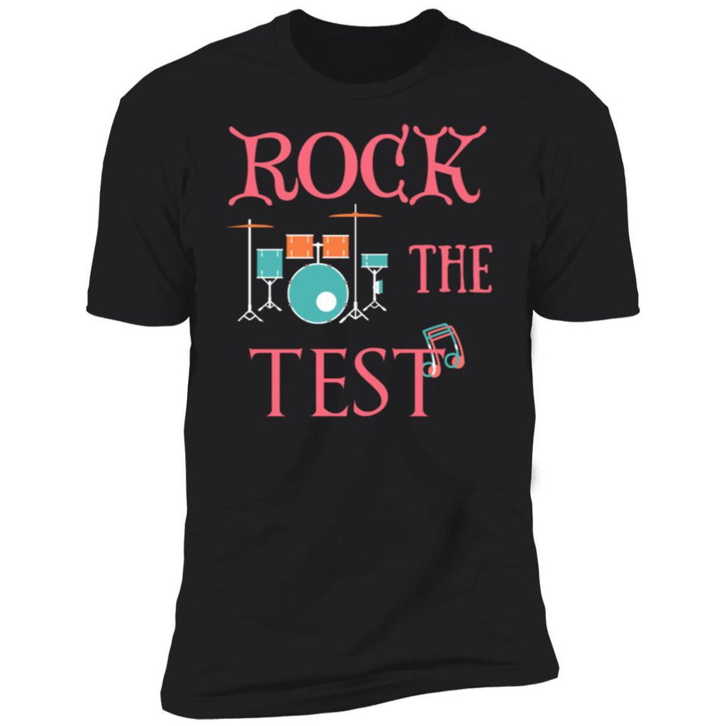 Rock The Test Professor Teacher Shirt