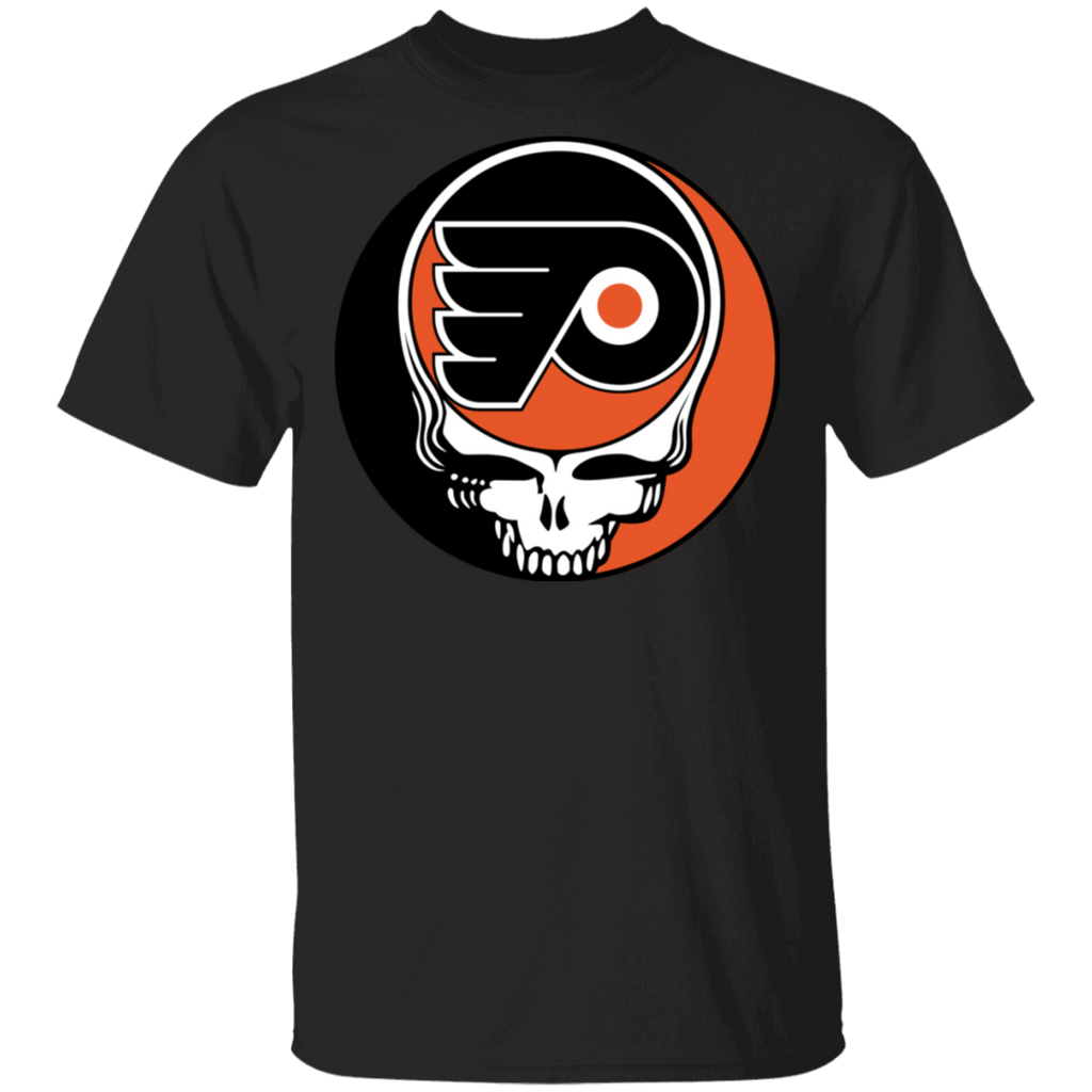 NHL - Philadelphia Flyers Hockey Grateful Dead Steal Your Face T-Shirt