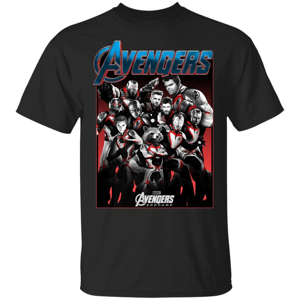 Marvel Avengers Endgame Main Cast Group Shot Premium T-Shirt