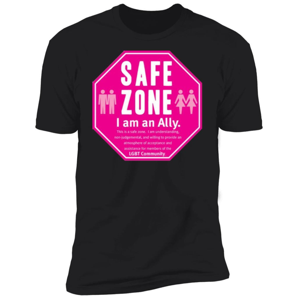 Safe Zone - Small Buttons T-Shirt