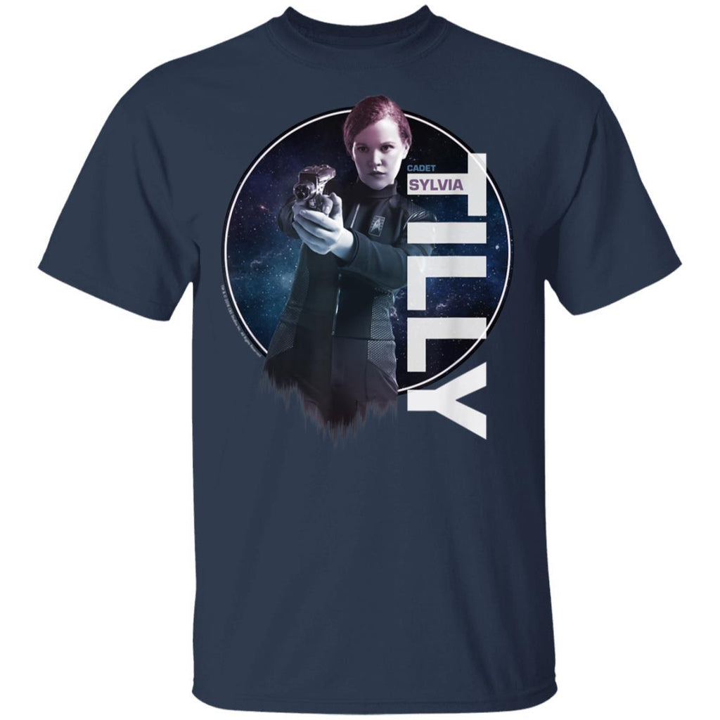 Star Trek Discovery Cadet Tilly Ombre Graphic T-Shirt
