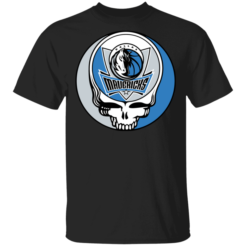 NBA - Dallas Mavericks Basketball Grateful Dead Steal Your Face T-Shirt