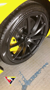 CERAMIC COAT WHEELS AND CALIPERS