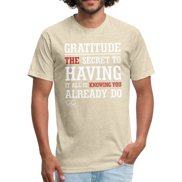 Gratitude Definition - heather cream