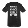 Kids' Premium T-Shirt Kindness Definition - black