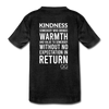 Kids' Premium T-Shirt Kindness Definition - charcoal gray