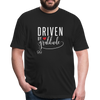 Driven by gratitude t-shirt - black