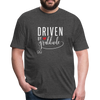 Driven by gratitude t-shirt - heather black