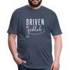 Driven by gratitude t-shirt - heather navy