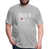 Driven by gratitude t-shirt - heather gray