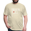 Driven by gratitude t-shirt - heather cream