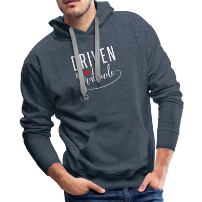 Driven by gratitude t-shirt - heather denim